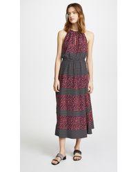 Robert Rodriguez - Printed Halter Dress - Lyst