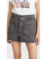 Madewell Baggy Pull On Shorts - Multicolour