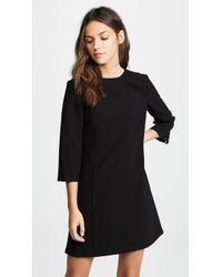 Alice + Olivia - Gem 3/4 Sleeve Shift Dress - Lyst
