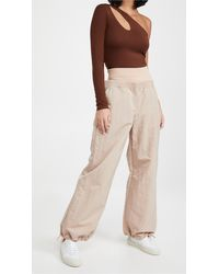 Dion Lee Nylon Track Trousers - Natural