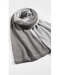 DONNI. Mini Sherpa Scarf - Grey