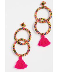 All Things Mochi - Maggie Earrings - Lyst