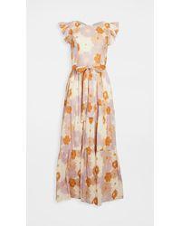 Carolina K Mila Dress - Orange