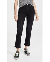 AMO Babe High Rise Slim Fit Jeans - Black