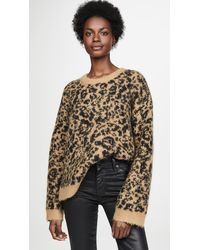 Madewell Leopard Sweater - Multicolor