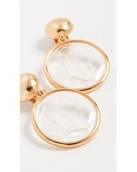 Oscar de la Renta - Cameo Earrings - Lyst