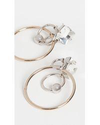 Justine Clenquet Yoko Earrings - Metallic