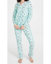 Roberta Roller Rabbit Heads & Tails Pyjamas - Green