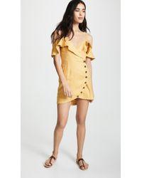 Suboo - Biscay Wrap Mini Dress - Lyst