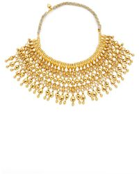 Aurelie Bidermann - Heart Beaded Bib Necklace - Lyst