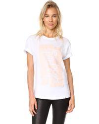 Les Girls, Les Boys - Graphic T-shirt Lglb - Lyst