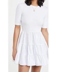 Re:named Re: Named Adelina Basic Dress - White