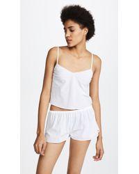 Les Girls, Les Boys - Woven Cotton Camisole - Lyst