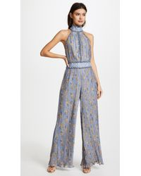 We Are Kindred - Helena Pleated Cutout Jumpsuit - Lyst