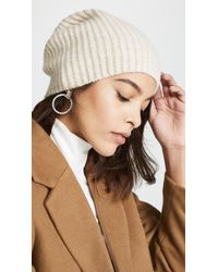 d5861b1057ac7 Lyst - Club Monaco Colleen Cashmere Hat in Natural