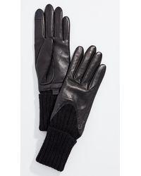 Agnelle Cecilia Gloves - Black
