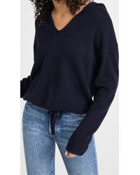 Theory - Relaxed Cashmere Hoodie - Lyst