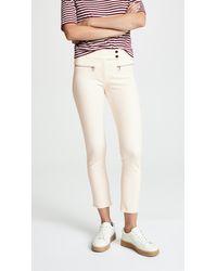 Veronica Beard Metro Trousers - White
