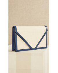 Hunting Season Envelope Clutch - Blue