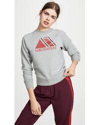 Maison Kitsuné - Triangle Sweatshirt - Lyst