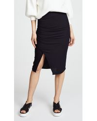 Splendid - 2x1 Rib Skirt - Lyst