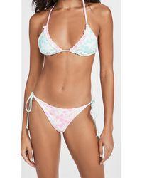 LoveShackFancy Harbor Bikini Set - Multicolour