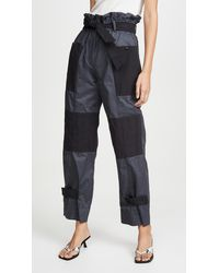 Sea Gabriette Quilted Trousers - Multicolour
