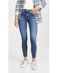 AG Jeans - The Farrah Skinny Jeans - Lyst