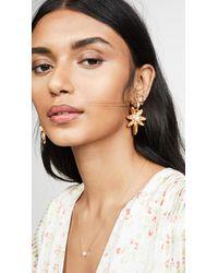 Oscar de la Renta - Stars Link Earrings - Lyst