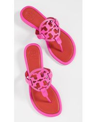 Tory Burch Miller Sandals - Pink