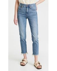 Madewell The Perfect Vintage Jeans - Blue