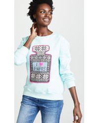 Michaela Buerger - I Love Paris Sweatshirt - Lyst