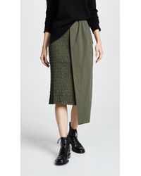 Edit - Ruched Skirt - Lyst