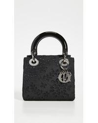 Dior Lace Lady Mini Bag - Black