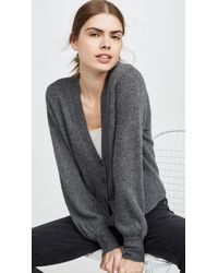 360 Sweater Kendall Cashmere Cardigan - Gray