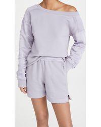 RTA Alessia Sweatshirt - Purple