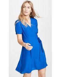 Diane von Furstenberg Savilla Dress - Blue