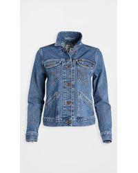 Wrangler Icons Jacket - Blue