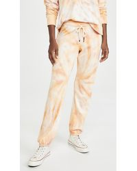 Sundry Tie Dye Sweatpants - Natural