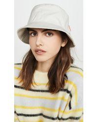 Acne Studios - Brun Cotton Canvas Hat - Lyst