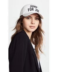 Kate Spade - Jump For Joy Baseball Cap - Lyst