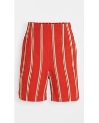 Ace & Jig Wendy Shorts - Red