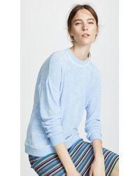 Tibi - Easy Sweatshirt - Lyst