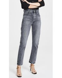 Citizens of Humanity Charlotte High Rise Straight Jeans - Multicolour