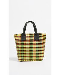 Truss - Small Tote With Leather Handle - Lyst