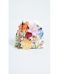 Alice + Olivia | Odessa Embroidered Floral Pouch | Lyst