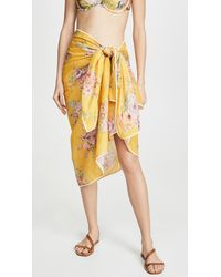 Zimmermann Printed Sarong - Yellow