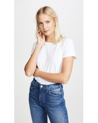 Nation Ltd - Marie Recycled Cotton Crop Tee - Lyst