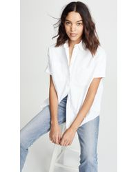 Madewell - White Cotton Courier Shirt - Lyst
