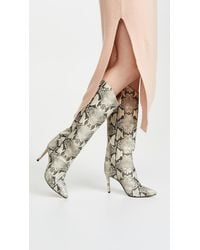 Schutz Maryana Tall Boots - Natural